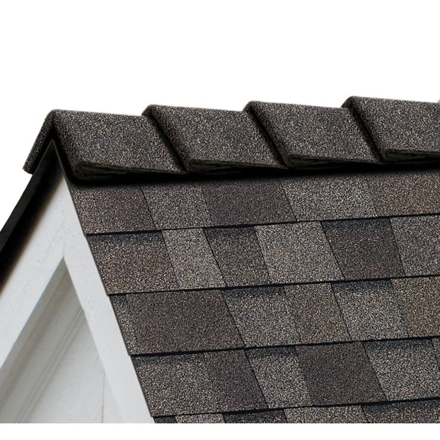 Owens Corning DecoRidge 20-lin ft Driftwood Hip and Ridge Roof Shingles
