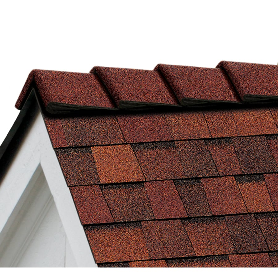 Owens Corning DecoRidge 20-lin ft Terra Cotta Hip and Ridge Roof Shingles