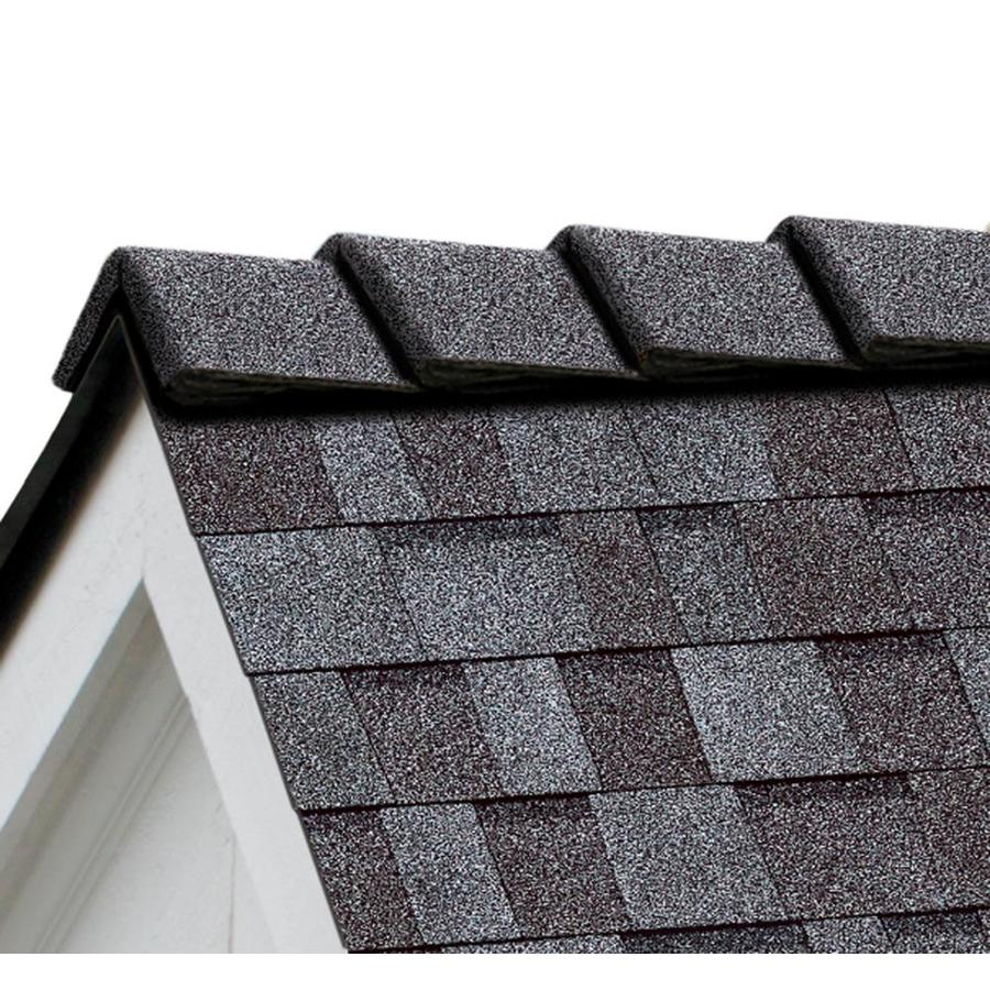 Owens Corning DecoRidge 20-lin ft Quarry Gray Hip and Ridge Roof Shingles