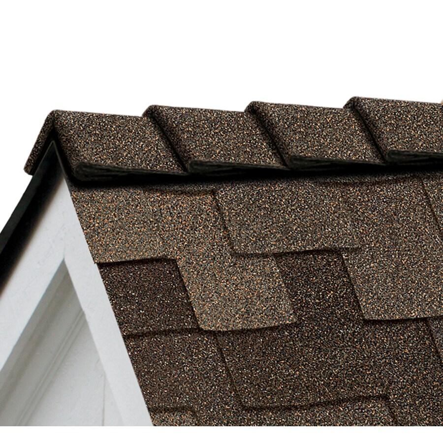 Owens Corning DecoRidge 20-lin ft Chestnut Hip and Ridge Roof Shingles
