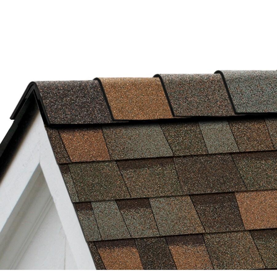 Owens Corning High Ridge 21.3-lin ft Aged Copper Hip and Ridge Roof Shingles