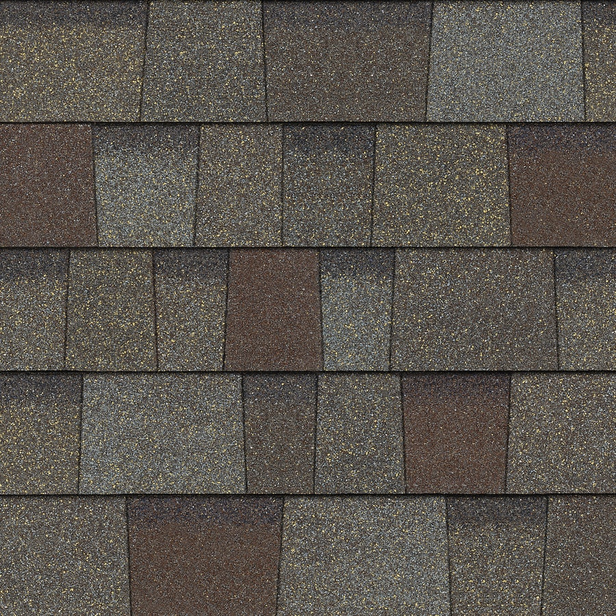 Owens Corning TrueDefinition Duration 32.8-sq ft Driftwood Laminated Architectural Roof Shingles