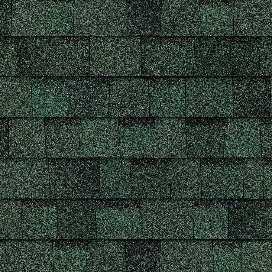 Owens Corning TruDefinition Duration 32.8-sq ft Chateau Green Laminated Architectural Roof Shingles