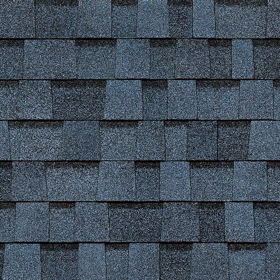 Owens Corning 32.8-sq ft Harbor Blue Laminated Architectural Roof Shingles