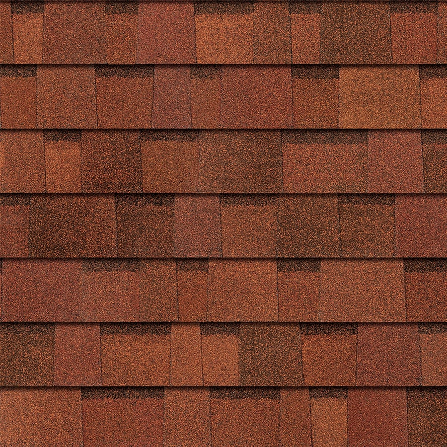 Owens Corning TruDefinition Duration 32.8-sq ft Terra Cotta Laminated Architectural Roof Shingles