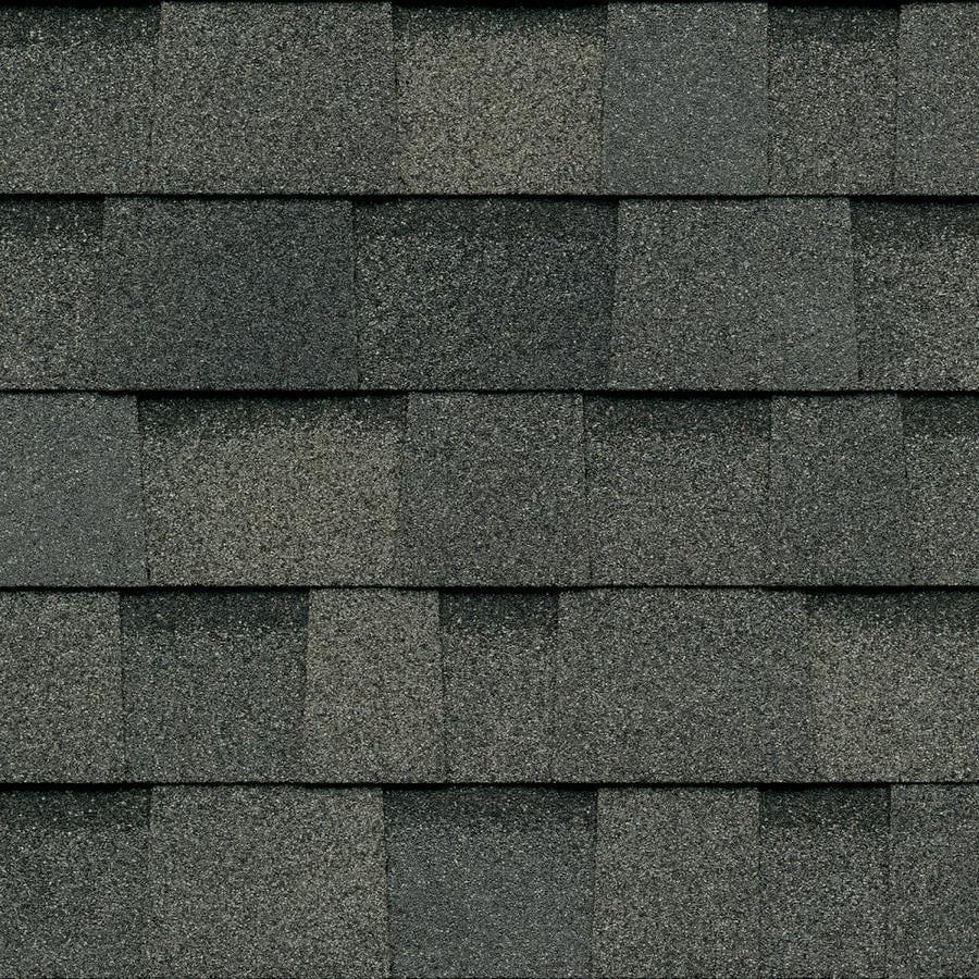 Owens Corning TruDefinition Duration STORM 32.8-sq ft Estate Gray Laminated Architectural Roof Shingles