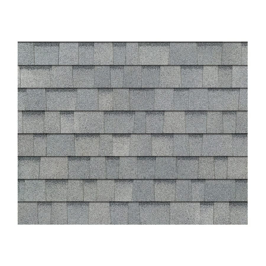 Owens Corning TruDefinition Duration 32.8-sq ft Antique Silver Laminated Architectural Roof Shingles