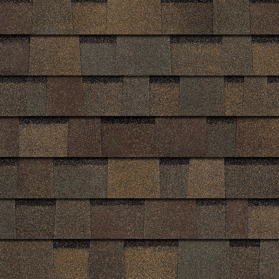 Owens Corning TruDefinition Oakridge 32.8-sq ft Teak Laminated Architectural Roof Shingles