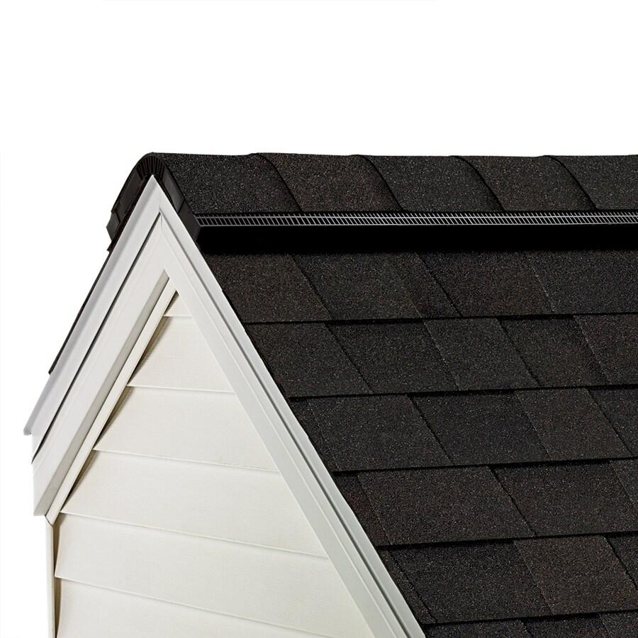 Owens Corning ProEdge 33-lin ft Artisan Black Walnut Hip and Ridge Roof Shingles