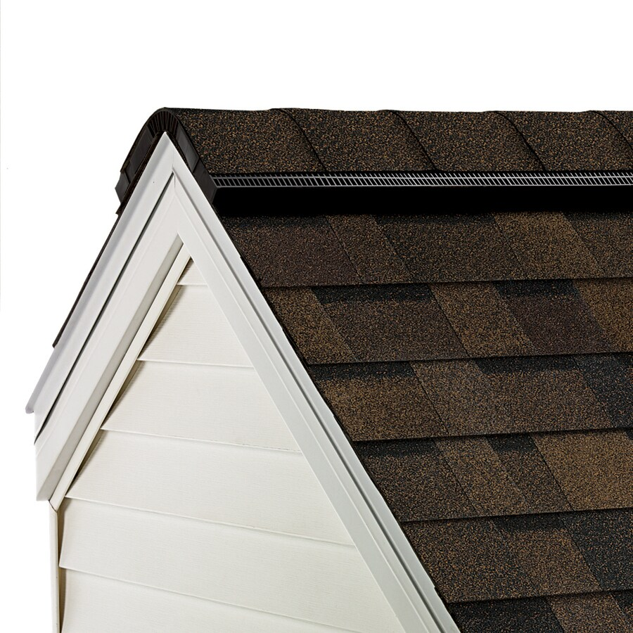 Owens Corning WeatherGuard HP 33-lin ft Trudef Brownwood Hip and Ridge Roof Shingles