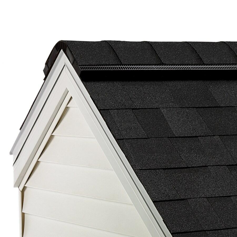 Owens Corning WeatherGuard HP 33-lin ft Trudef Onyx Black Hip and Ridge Roof Shingles