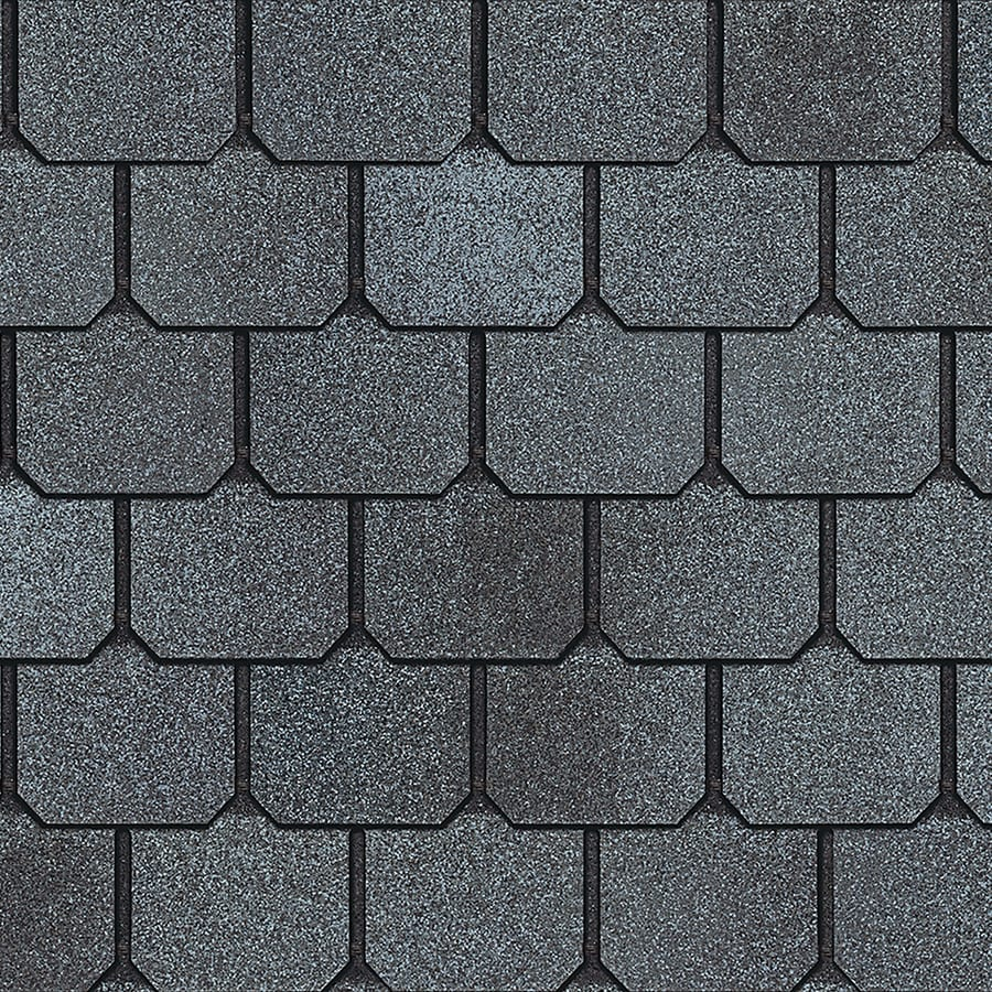 Owens Corning Devonshire 33.33-sq ft Seaside Cliff Architectural 5-Tab Roof Shingles