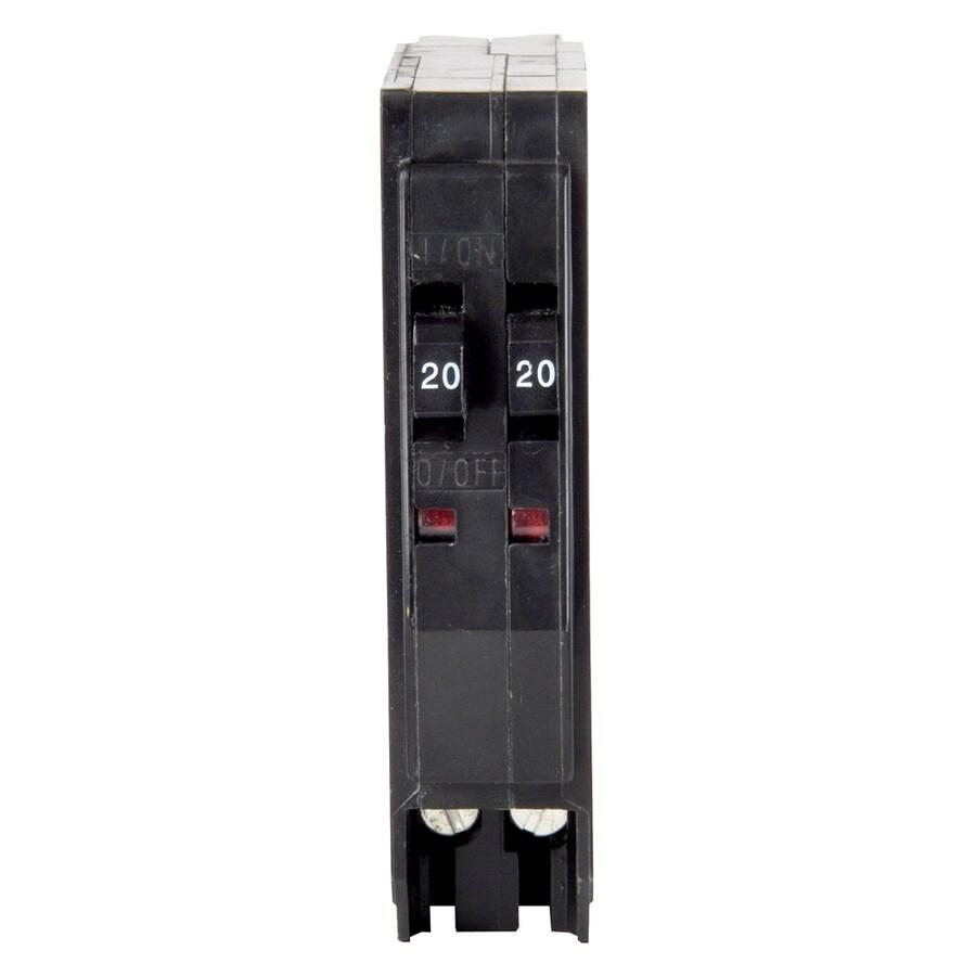 Square D QO 20-Amp 2-Pole Tandem Circuit Breaker