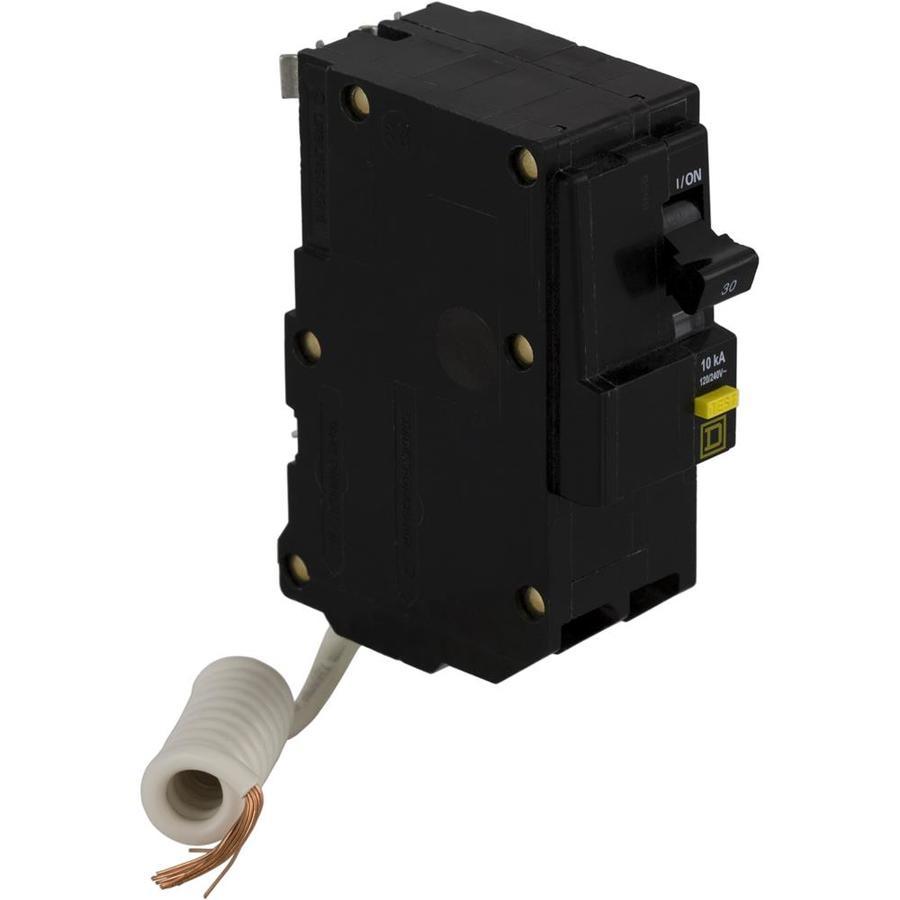 Square D QO 30-Amp 2-Pole Ground Fault Circuit Breaker
