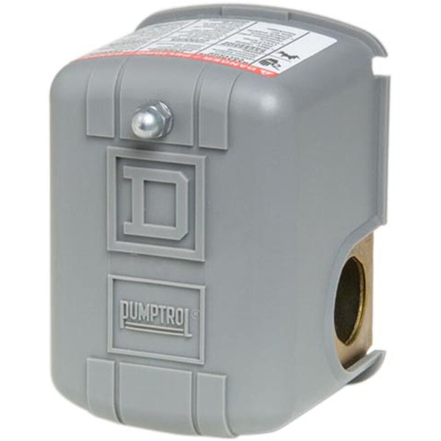Square D Plastic Cover On Metal Base Pressure Switch