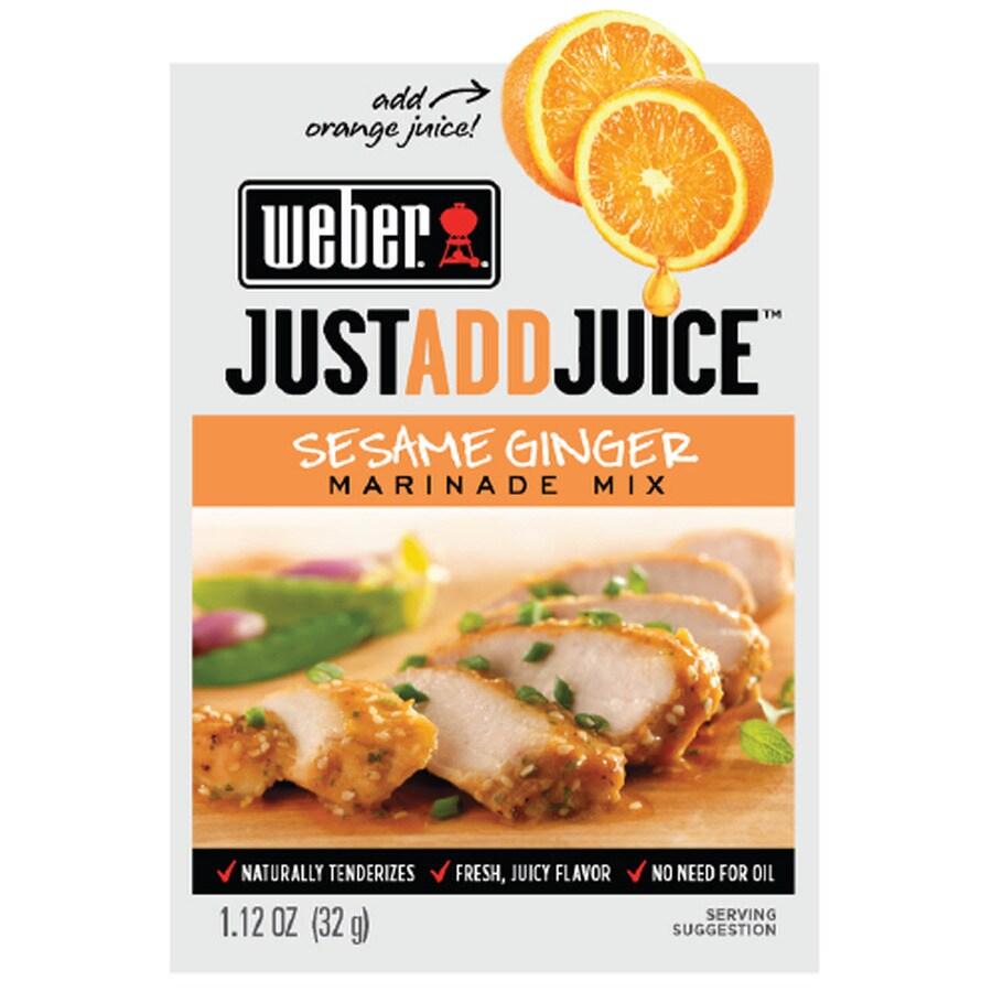 Weber 1.12-oz Sesame Ginger Marinade Kit