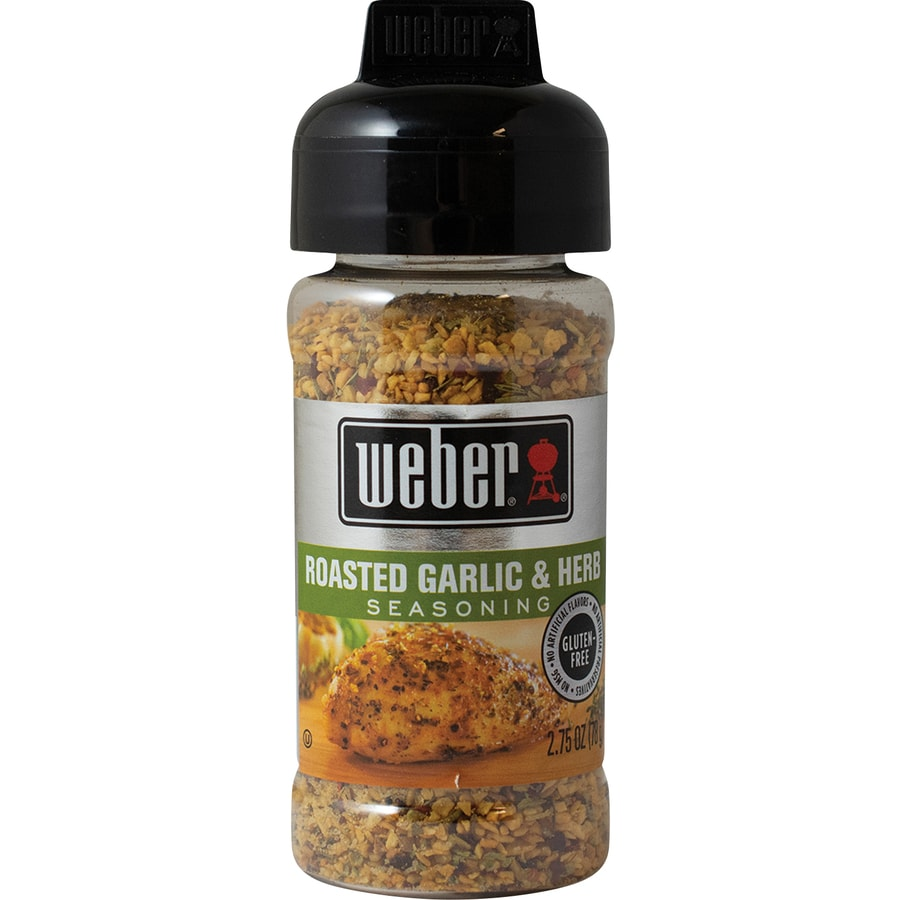 Weber 2.75 oz Roasted Garlic and Herb Seasoning Blend