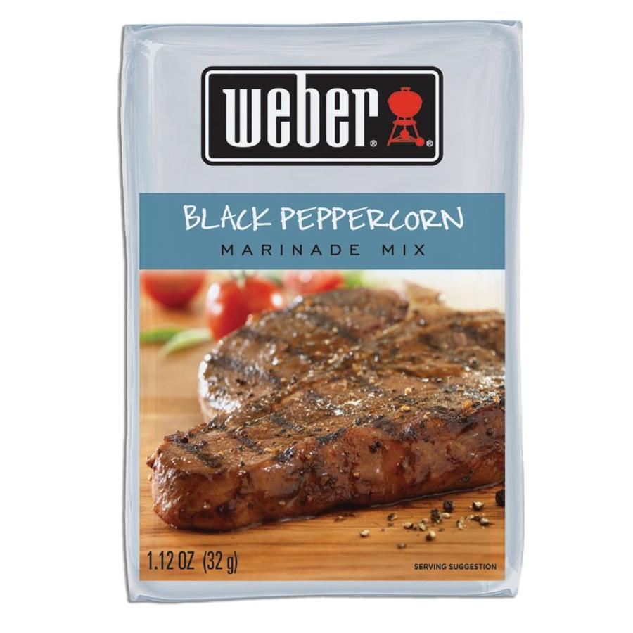 Weber 1.12-oz Black Peppercorn Marinade Kit