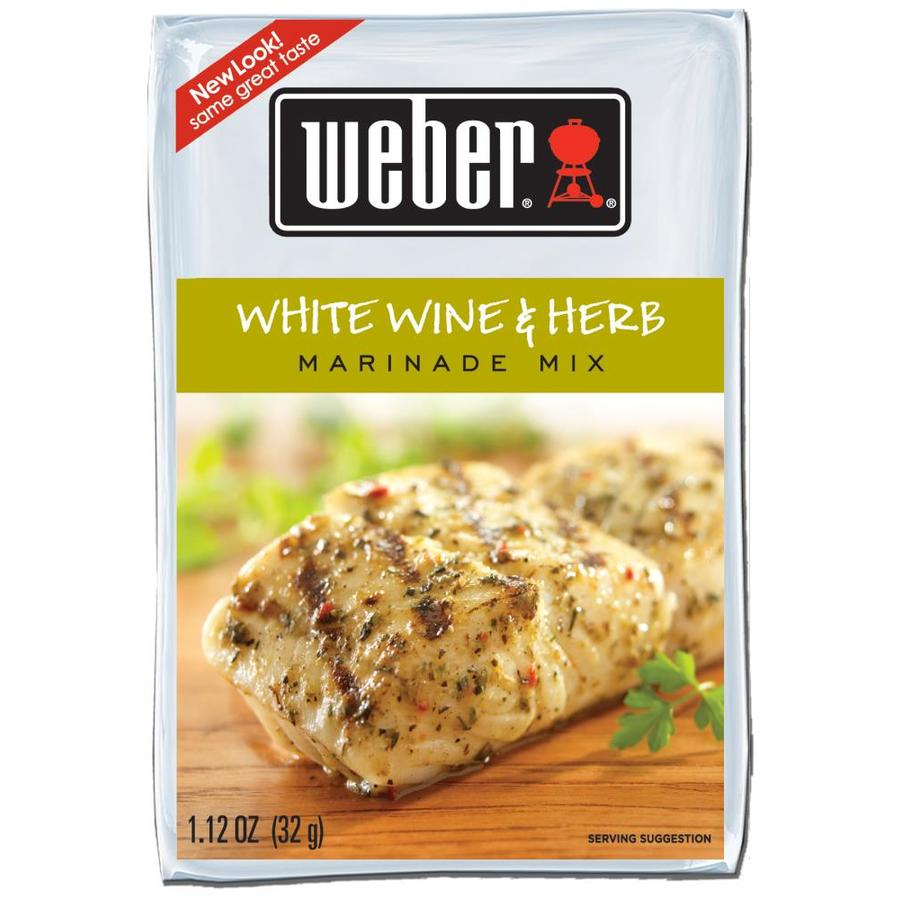 Weber 0.078-oz White Wine Herb Seasoning Blend