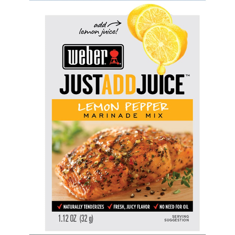 Weber 1.12 oz Lemon Pepper Marinade Kit