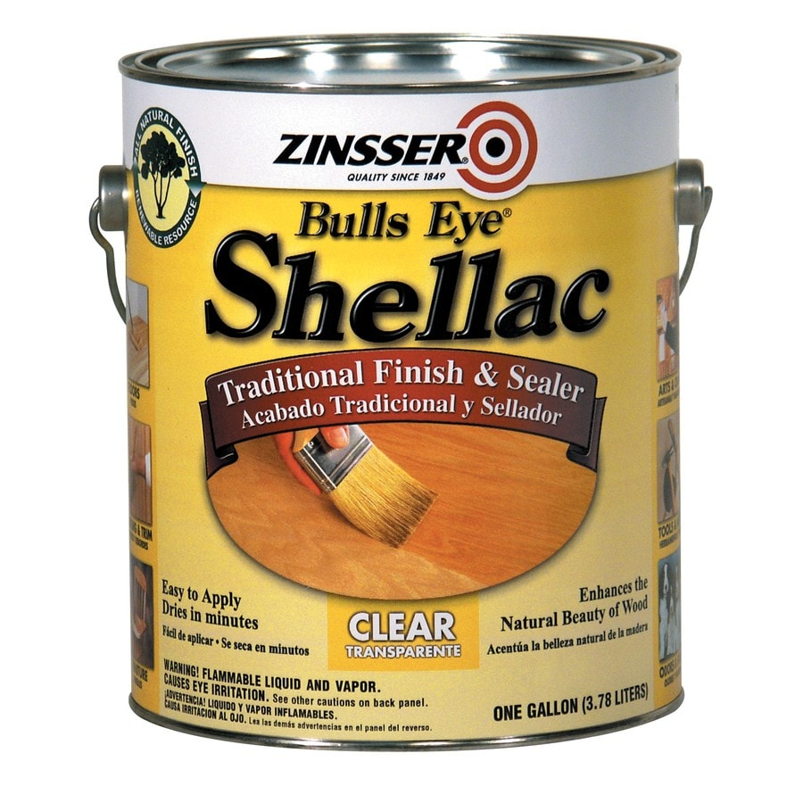 Zinsser Shellac Clear Base 128 fl oz Shellac