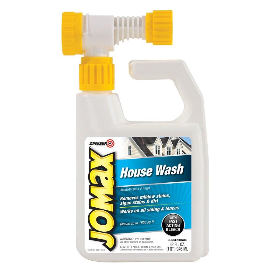 Zinsser Jomax 1-Quart House Wash with Bleach