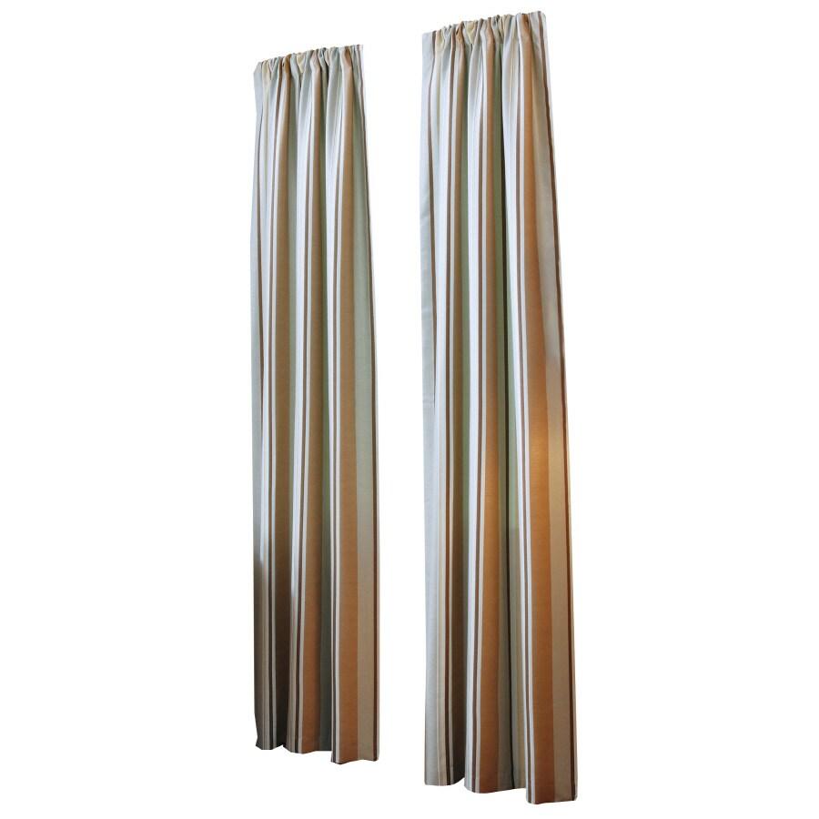 Grommet curtain rods