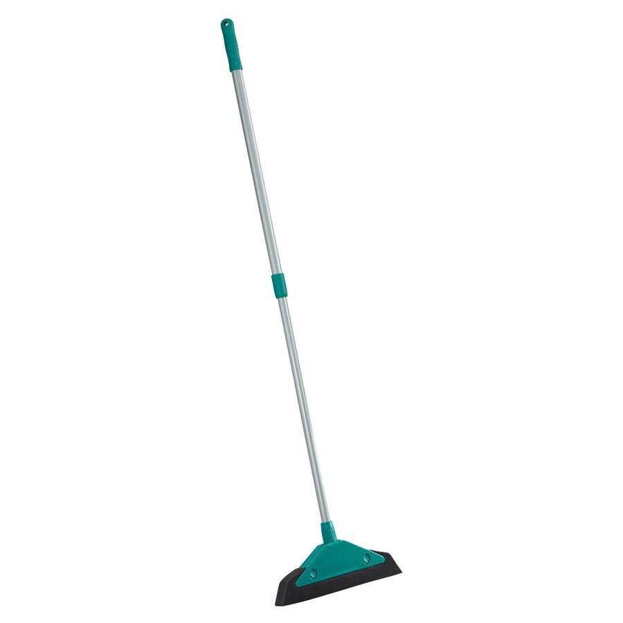 Leifheit 13.18-in Poly Fiber Stiff Upright Broom