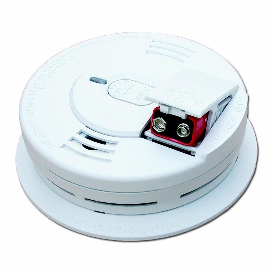 Kidde Battery-Powered 9-Volt Smoke Detector