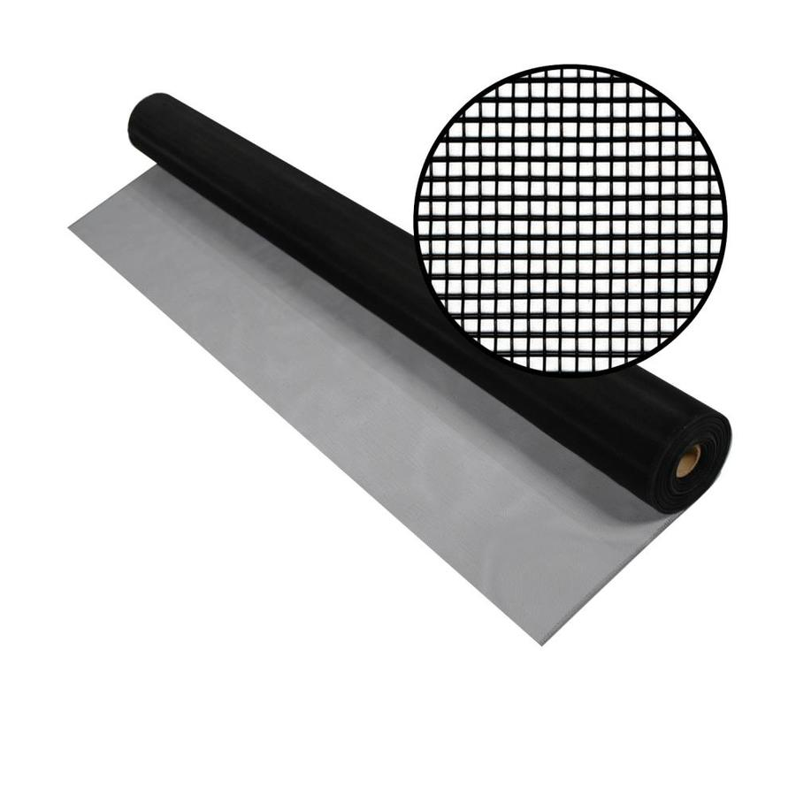 Phifer 48-in x 100-ft Black Aluminum Screen Wire