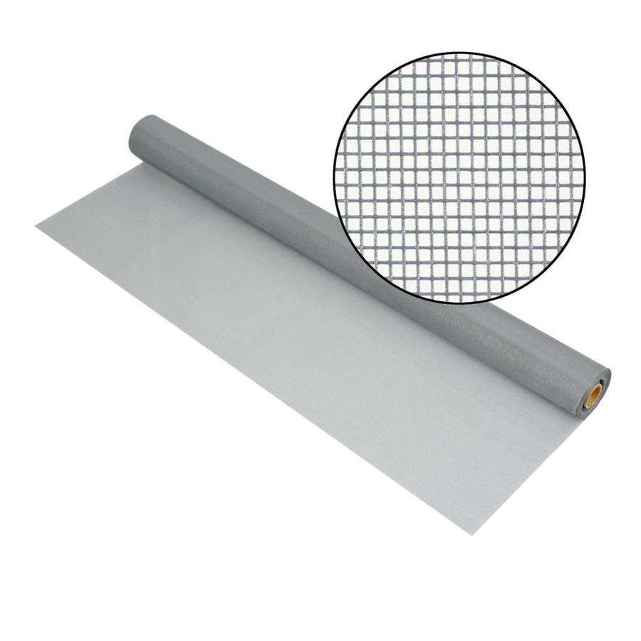 Phifer Pool & Patio 72-in x 100-ft Silver-Gray Fiberglass Screen Wire