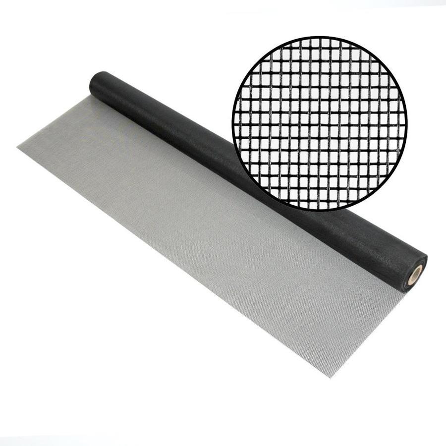 Phifer 18x14 Pool & Patio 60-in x 100-ft Charcoal Fiberglass Screen Wire