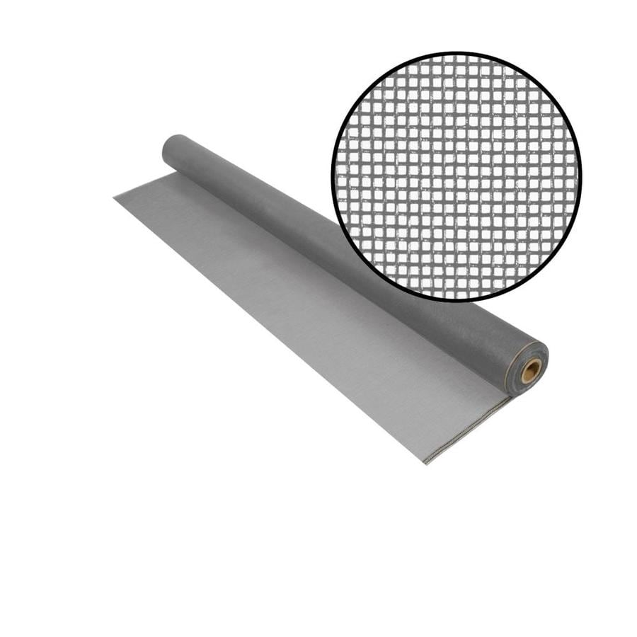 Phifer No-See-Ums 48-in x 100-ft Silver Gray Fiberglass Screen Wire