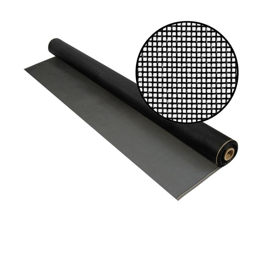 Shop Phifer No See Ums 36 In X 100 Ft Charcoal Fiberglass