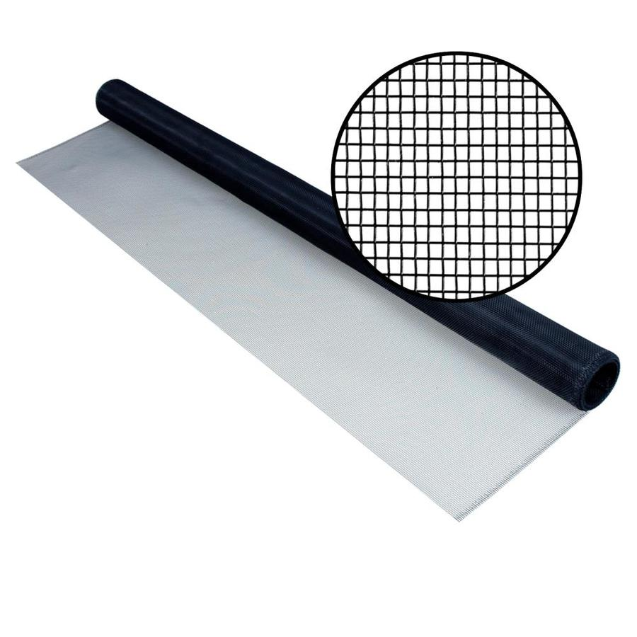 Phifer 36-in x 7-ft Charcoal Aluminum Screen Wire
