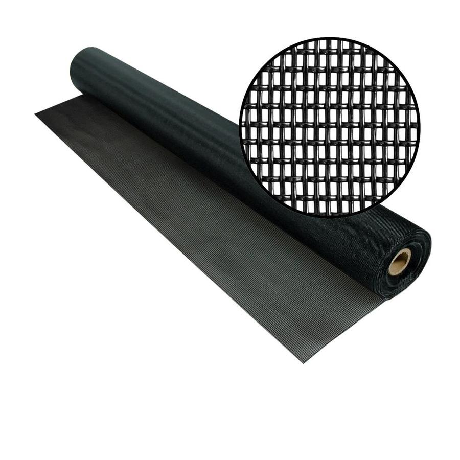 Phifer PetScreen 60-in x 100-ft Black Vinyl-Coated Polyester Screen Wire