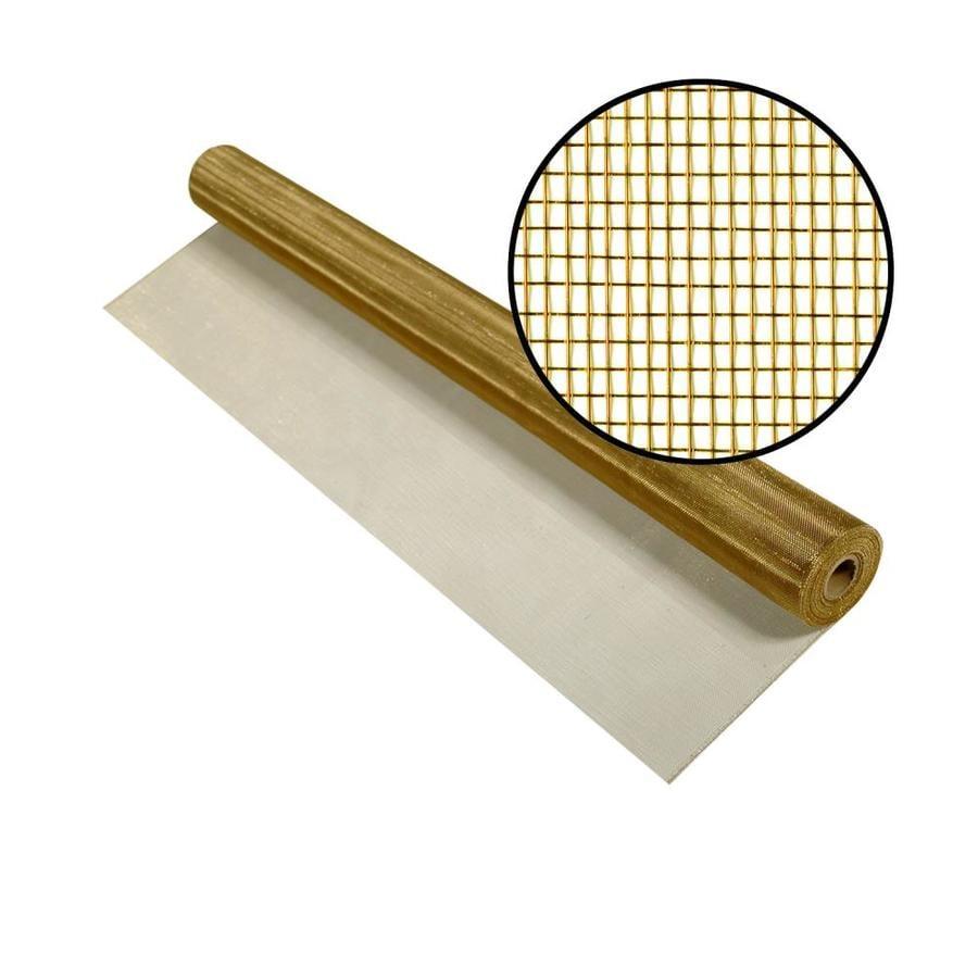 Phifer 30-in x 50-ft Bright Bronze Copper Screen Wire