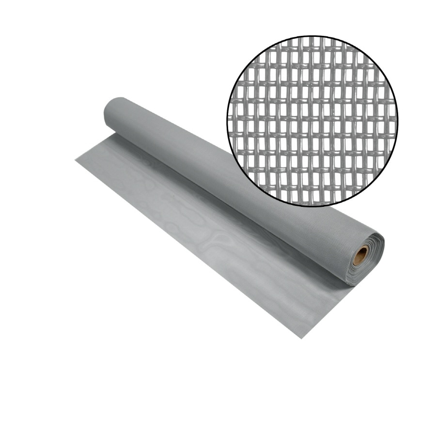 Phifer PetScreen 30-in x 50-ft Gray Vinyl-Coated Polyester Screen Wire