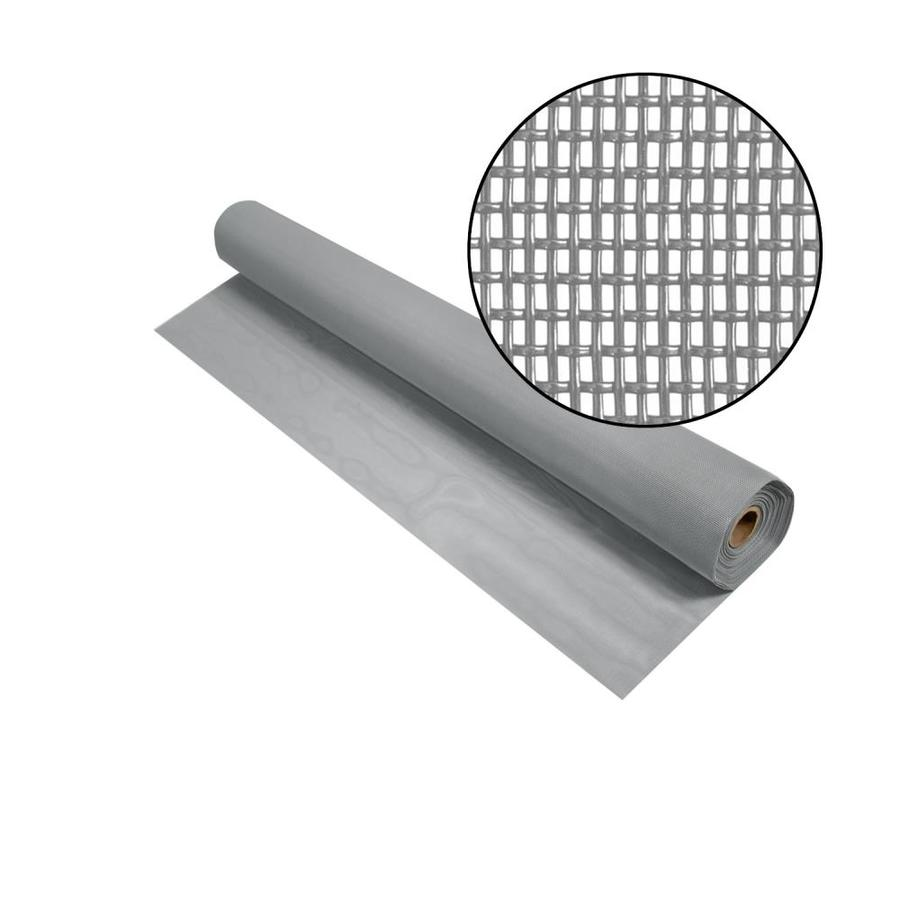 Phifer PetScreen 48-in x 50-ft Gray Vinyl-Coated Polyester Screen Wire
