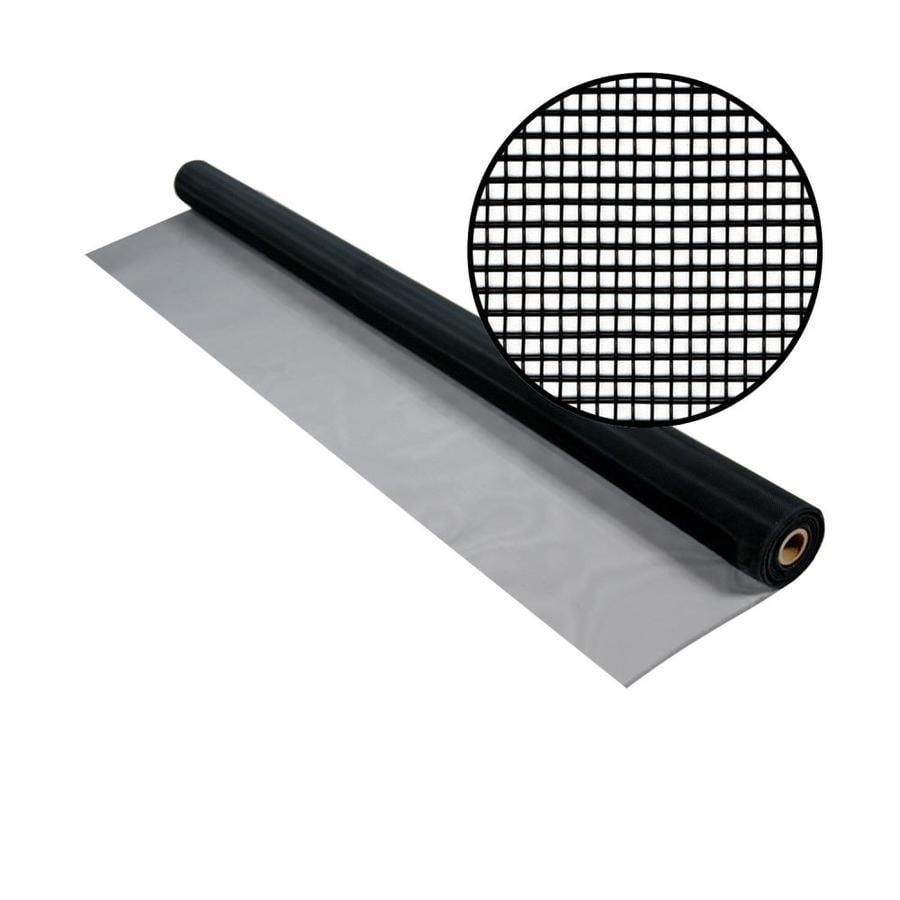 Phifer 60-in x 50-ft Black Aluminum Screen Wire
