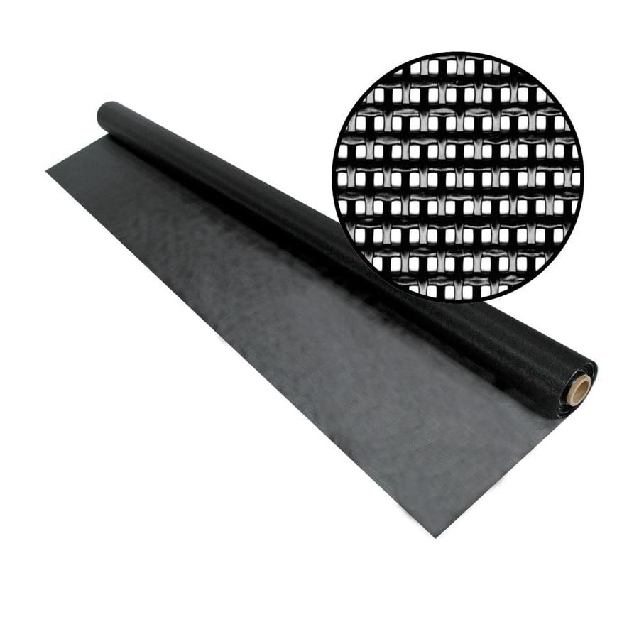 Phifer SunTex 80 72-in x 50-ft Black Vinyl-Coated Polyester Screen Wire