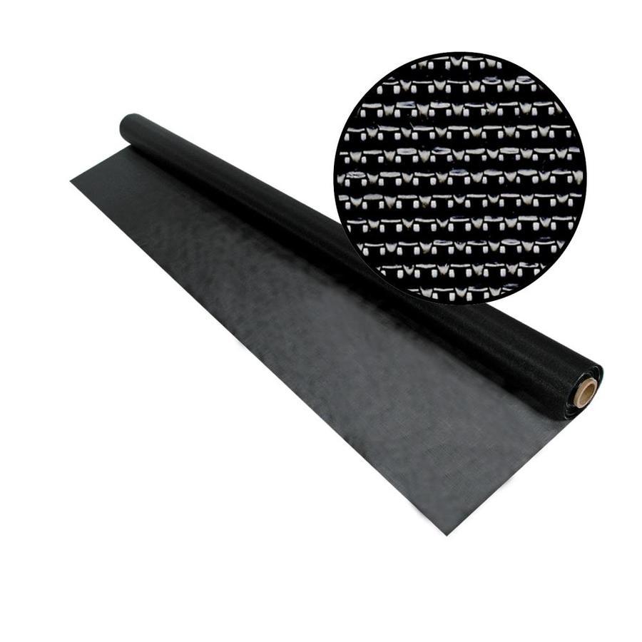 Phifer SunTex 90 72-in x 50-ft Black Vinyl-Coated Polyester Screen Wire