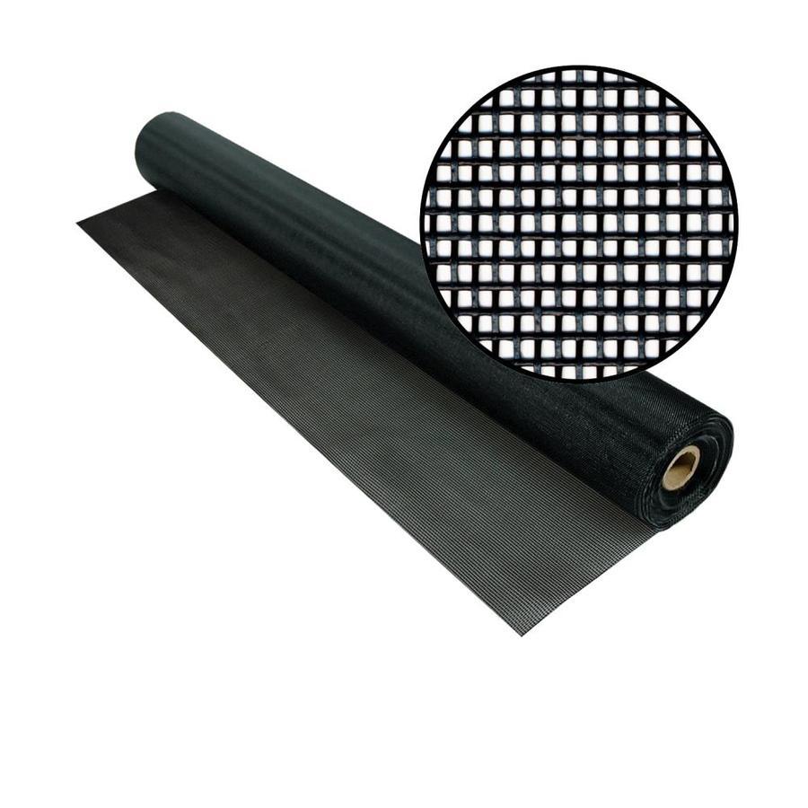 Phifer TuffScreen 60-in x 100-ft Black Vinyl-Coated Polyester Screen Wire