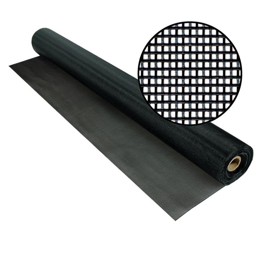 Phifer Tuffscreen 96-in x 100-ft Black Vinyl-Coated Polyester Screen Wire