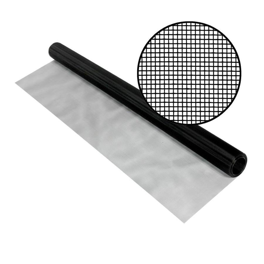 Phifer SeeVue 48-in x 25-ft Black Stainless Steel Screen Wire