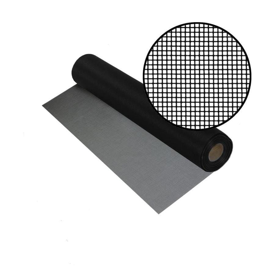 Phifer BetterVue 30-in x 100-ft Black Fiberglass Screen Wire