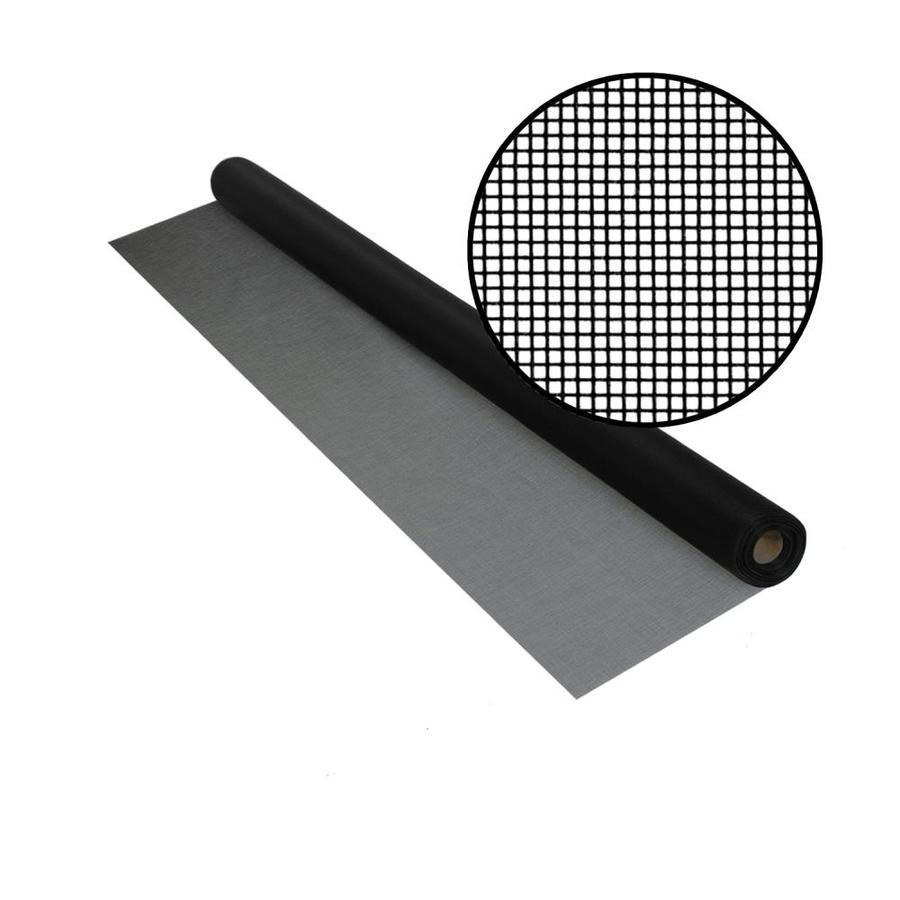 Phifer BetterVue 36-in x 50-ft Black Fiberglass Screen Wire