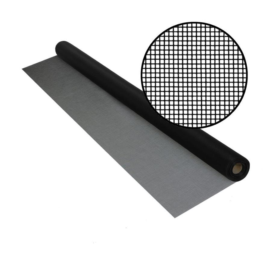 Phifer BetterVue 60-in x 50-ft Black Fiberglass Screen Wire