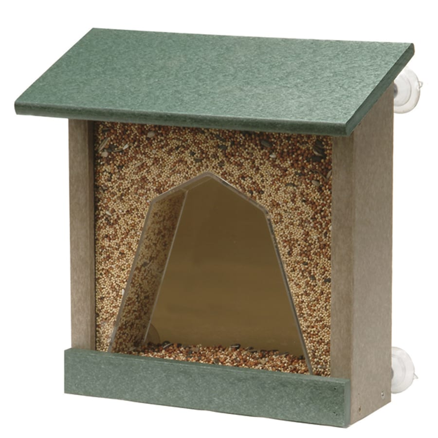 Akerue Industries Rogers and Kirkwood Plastic Hopper Bird Feeder