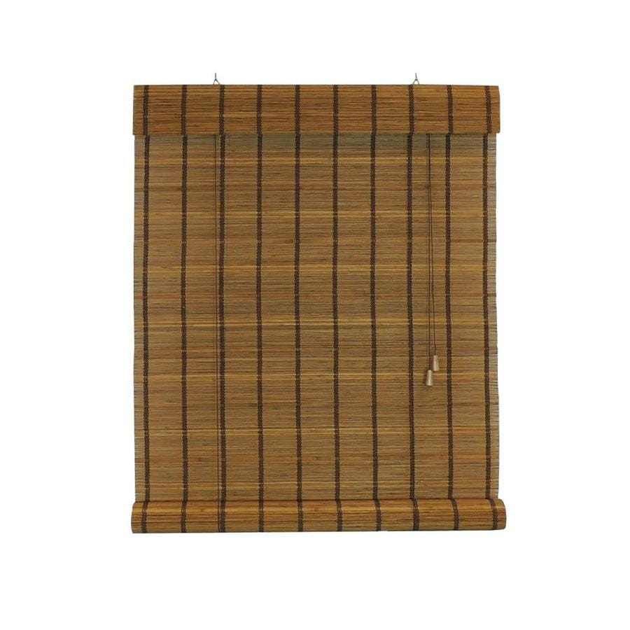 Radiance Sable Light Filtering Bamboo Roll-Up Shade (Common 48-in; Actual: 48-in x 72-in)
